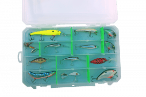 Lock Your Lures in Place By Bernard Williams, Outdoor Writer