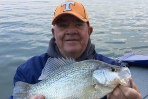 Chickamauga crappie with Phil