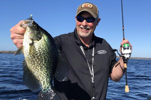 trolling crankbaits or jigs for crappie